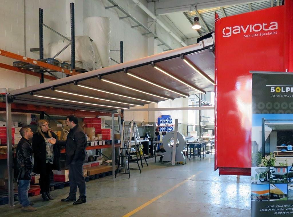 Visitamos el camión-showroom de Gaviota Simbac en las instalaciones de Solplay