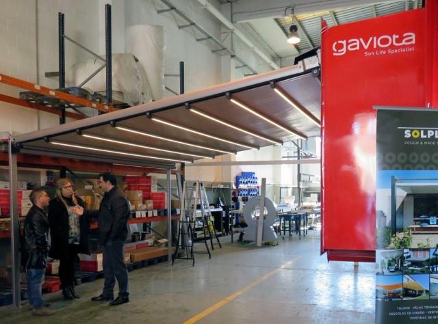 Visitem el camió-showroom de Gaviota Simbac a les instal·lacions de Solplay