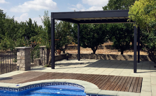 Instalación de una Isola 2 de Ke Outdoor Design en Montmaneu