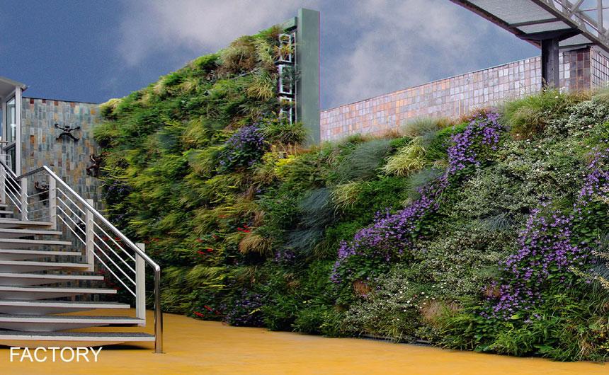 A partir d'avui, nous instal·ladors de jardins verticals AIR GARDEN
