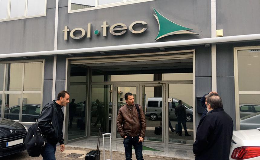 L'equip tècnic de Tendals Egara visitem Tol-tec